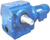 S series helical-worm gear reducer units